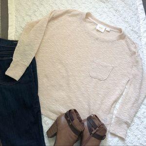 Maeve Cream Knit Top